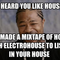 In the house, listening to house! (mixtape)