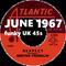 JUNE 1967: funky UK 45s