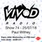 Vivod Radio 074 w Paul Withey