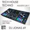 Set Dj Jonas 69 Tech House y Techno Agosto 2017 Grabado con Denon Dj MC7000 y Serato Dj