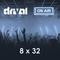 Drival On Air 8x32