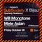 Will Monotone b2b Mete Aslan live from SubSociety X Bijou 10.26.2018 [Bijou Nightclub. Boston, USA]