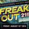 Slave Vs. Sean 216 - Freak Out 216! @ The Beachland Beallroom 8/15/14