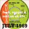 JULY 1969: funk, reggae & soul UK 45s