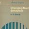 Changing Man's Behavior 8/15 Edition 12