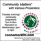 Connemara Community Radio - 'Community Matters' with Mary Ruddy - 11feb2020