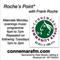 Connemara Community Radio - 'Roche's Point' with Frank Roche - 8oct2018