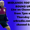 Midlands football Round Up 6th October 2016 : With Special Guest Alex Davis