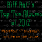 Riff Raff's TOP TEN ALBUMS OF 2012