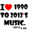 Dj Moha Set One song each year from 1990 to 2012