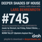 Deeper Shades Of House #745 w/ exclusive guest mix by NORM TALLEY