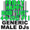 """(Mostly) 80s & New Wave Happy Hour """"Live"""" - Generic Male DJs - 4-9-2021 (3PM to 5PM)"""