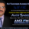 Poet Aatif Saeed Live Interviw with Rj Tanveer Ahmed Khan AMZFM