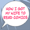 How I Got My Wife to Read Comics #496