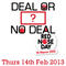 OMG Presents Deal Or No Deal for Comic Relief