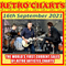 Retro Charts - top 10 current hits by retro artistes - 16 Sept edition with Terry Hughes