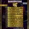 DANGERZONE TOP TEN 9TH OCT SINGERS EDITION