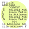 SIDES014 - Félicia Atkinson: Stone Flowers