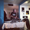 Ghozt at Sjoppan's DJ lounge party.