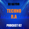Podcast 02 techno Résident Advisor by DJ KAYRO (WAZACREW) mai 2016