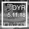 DYR // 5.11.18 MOONRISE @ FOUR EYES: Live