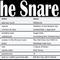 The Snare: Black/Doom/Sludge/Whatever 2017-12-06