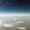på flygplanet