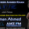 Salman Ahmed Bodybuilder (Pakistan) Live Interview with RJ Tanveer Ahmed Khan - AMZFM