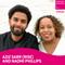 Aziz Sarr (RISE) and Naomi Phillips
