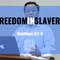 Blessed Sundays: Freedom in Slavery