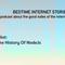 BedTime Internet Stories - Pilot: The History of Nodejs