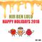 Set 190 - Happy Holidays 2018 - Nir Ben Lulu