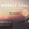 SOC Weekly Call - October 15, 2018 - The History of SendOutCards - Kody Bateman & Jodi Bateman