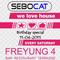 Sebocat - live @ we love house - Freyung 4 // 11-04-2015