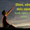 Dios, abre mis ojos.
