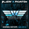 Blazin x Phantom - Warning Mixtape: August 2012