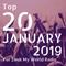 January 2019 - Hottest 20 Zouk Tracks for Zouk My World Radio!