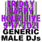 (Mostly) 80s & New Wave Happy Hour - Generic Male DJs - 9-17-2021