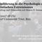 Simon Isemann: Einführung in die Psychologie des islamistischen Extremismus (19. Mai 2017)