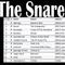 The Snare: Black/Doom/Sludge/Whatever 2017-09-06