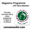 Connemara Community Radio - 'Magazine Programme' with Steve Basteed - 14march2019