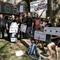 Jour de grève au collège Villon