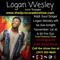 "Pop/Singer ""Logan Wesley"" Sang his heart out on the DJ Cisco Radio Network LLC"
