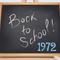 1972 - THE SCHOOL YEARS