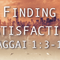 December 30, 2018 - Finding Satisfaction - Paul Farrior