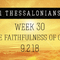 1 Thessalonians – Week 30