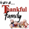 We are a Thankful family
