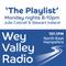 The Playlist on Wey Valley Radio 9 July 2018