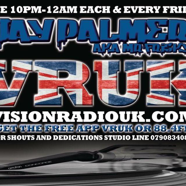 Jay Palmer live on Visionradiouk.com 4/11/16