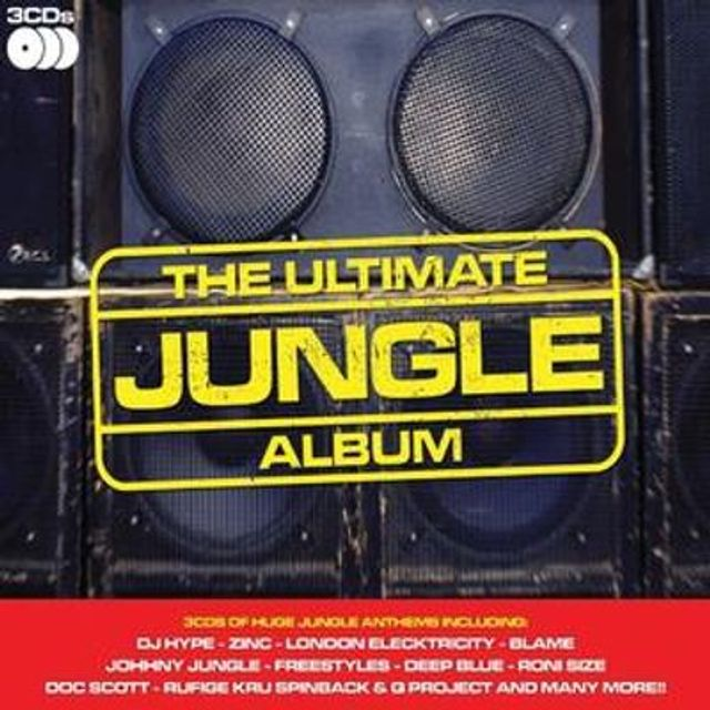 The Ultimate Jungle Album updated with 2016 dnb mixed by Maco42